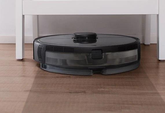 Roborock S5 Max, barre y friega de manera automática, con gran poder de succión y escaneo de la casa para una mayor limpieza. Con hasta 3 horas de autonomía y carga automática.