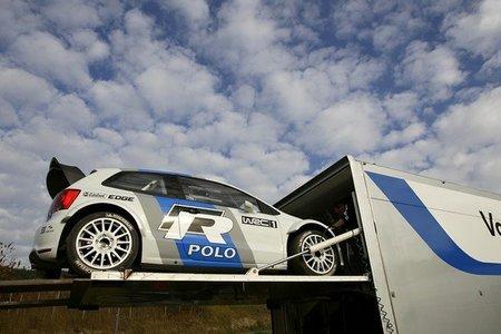 Volkswagen continúa con los test del Polo R WRC