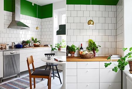 Cocina nórdica moderna
