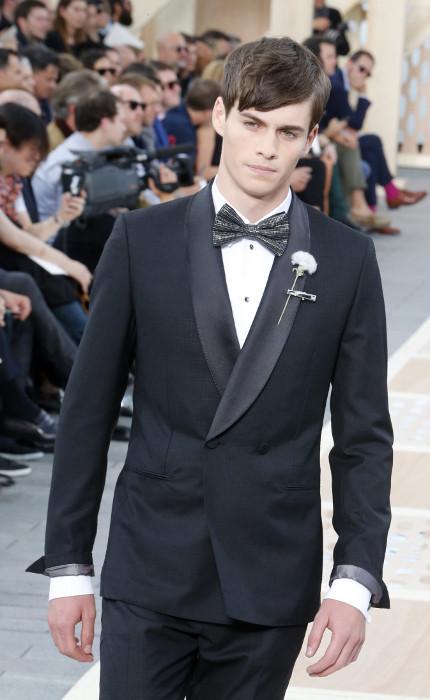 Tuxedo Louis Vuitton SS 2014