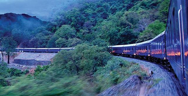 Viajando en tren con niños