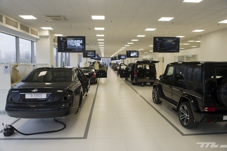 ARES Design, visita fábrica Modena