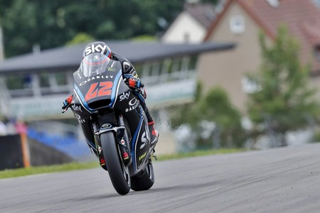 Francesco Bagnaia Moto2 Gp Republica Checa 2017