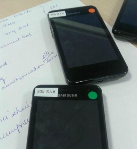Los misteriosos teléfonos Samsung con 3 GB de memoria RAM