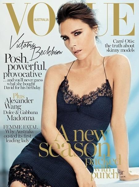 Vogue Australia September 2013 Victoria Beckham by Boo George