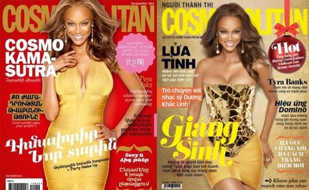 TYRA COVERS