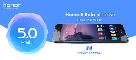 Huawei revela los detalles de la actualización a Nougat del Honor 8