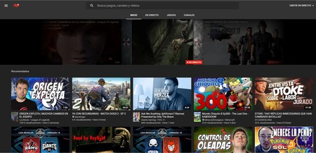 Youtub Gaming Web