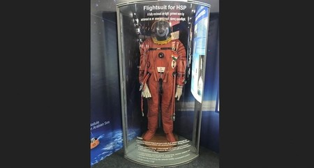 Así es el traje espacial que usará la India