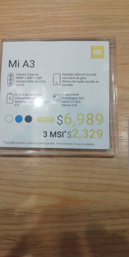 Xiaomi Mi A3 Precio Mexico Mi Store