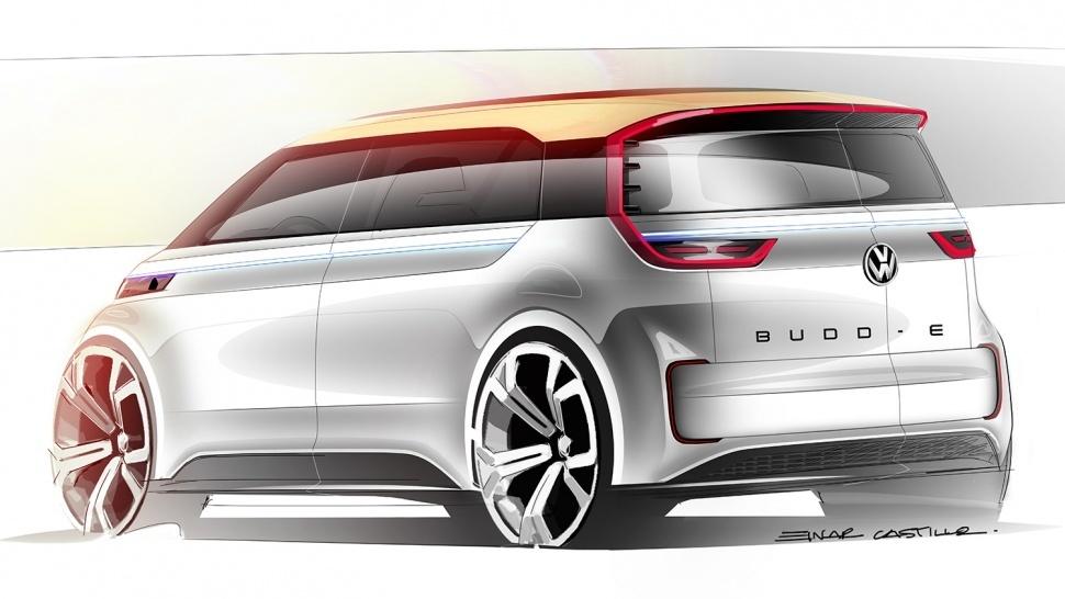 Foto de Volkswagen BUDD-e concept (9/30)