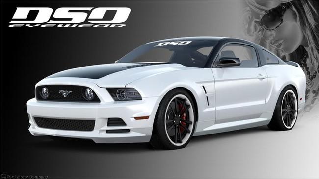 Ford Mustang GT visto por DSO Eyewear