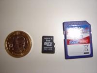 Tarjetas microSD 8 GB de Samsung para móviles