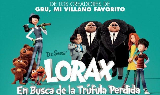 Fragmento del cartel de 'Lorax. En busca de la trúfula dorada'
