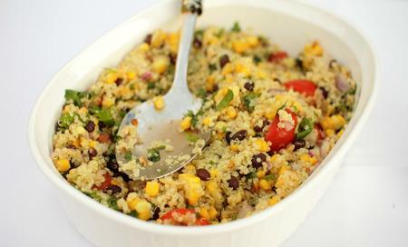 Ensada de quinoa y vegetales
