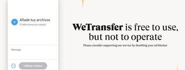 Cómo enviar un archivo por WeTransfer