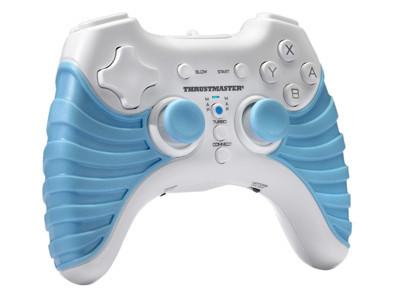 Thrustmaster T-Wireless NW, mando inalámbrico para la Wii