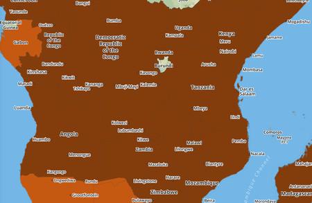 Africa Mapa Carreteas