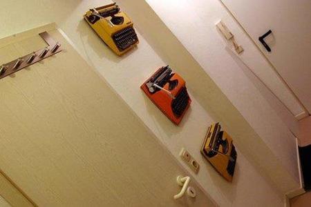 Una buena idea: enseña tus antiguas máquinas de escribir