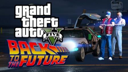 Regreso al Futuro también tiene hueco en GTA V gracias al Rockstar Editor