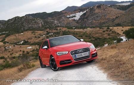 Audi S3 presentación en Málaga rojo 52B