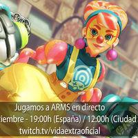 Streaming de ARMS a las 19:00h (las 12:00h en Ciudad de México) [finalizado]