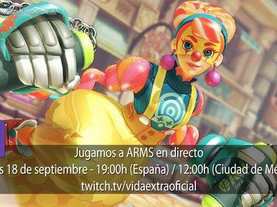 Streaming de ARMS a las 19:00h (las 12:00h en Ciudad de México)