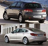 BMW Serie 5 GT y Renault Vel Satis: es igual, pero no es lo mismo