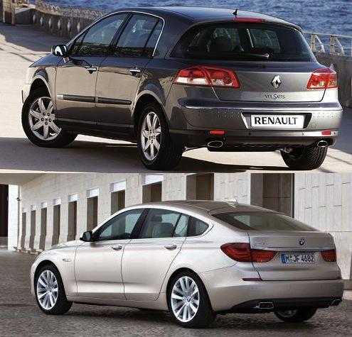BMWSerie5GTyRenaultVelSatis:esigual,peronoeslomismo