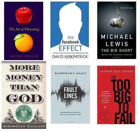 Los mejores libros de negocios del 2010