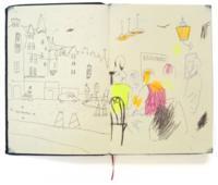 Sustituye tus Instagrams por unas memorias dibujadas, como los diarios de viaje ilustrados de Kevin Lucbert
