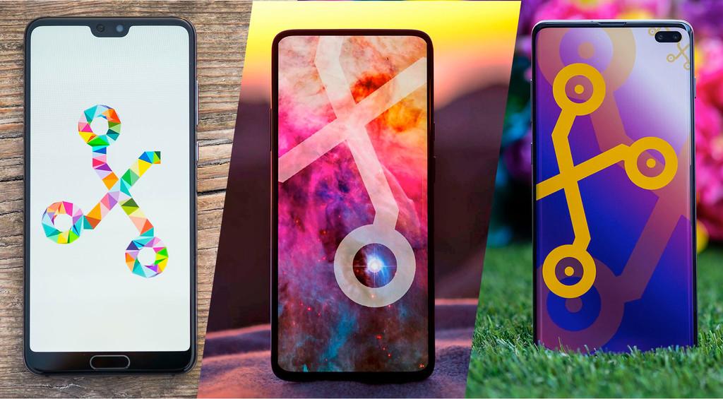 22 fondos de pantalla para móvil de Xataka: una selección de los diseños que hemos usado en los análisis