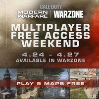 Call of Duty: Warzone permitirá jugar gratis al multijugador de Modern Warfare durante todo este fin de semana