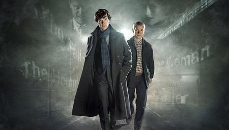 Benedict Cumberbatch y Martin Freeman confirman su presencia en la cuarta temporada de 'Sherlock'