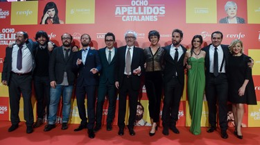 Al gran estreno de '8 apellidos catalanes' no faltó nadie, nadie