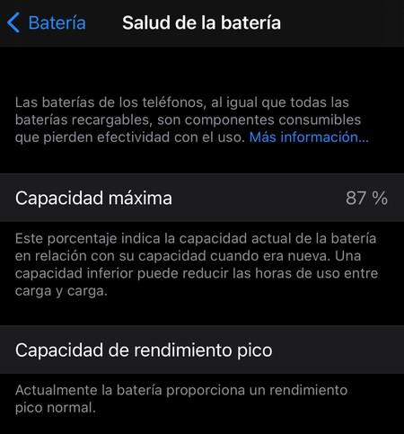 Apple iPhone Health Battery