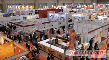 Productores mexicanos participan en la Foodex Japan 2017