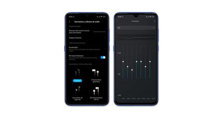 Xiaomi Mi 9 Ajustes Audio
