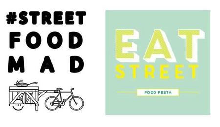 Logos de street food y eat street