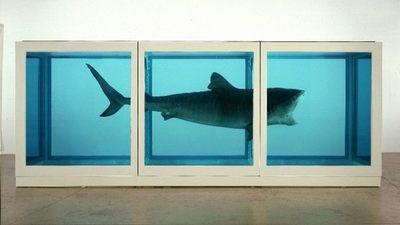 Damien Hirst en la Tate Gallery, retrospectiva de l´enfant terrible del arte británico