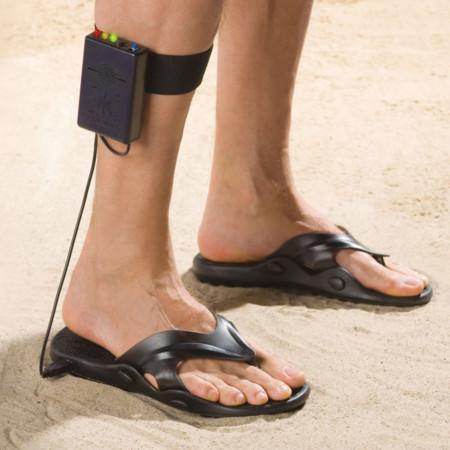 Sandalias detectoras de metal