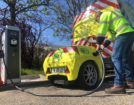 Renault Master ZE eléctrica con extensor de autonomía en remolque