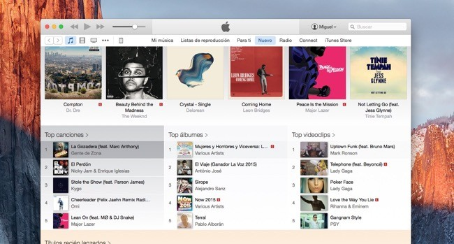 Apple sigue puliendo las imperfecciones de Apple Music con iTunes 12.2.2