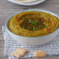 Dip de berenjena etíope: receta fácil de picoteo
