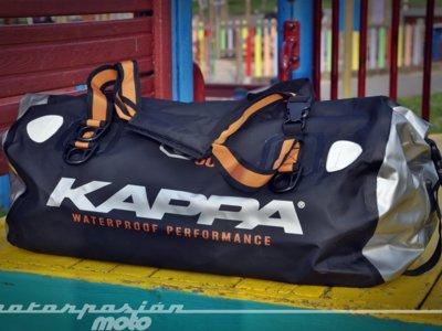 Bolsa Kappa Dry Pack WA404S, prueba