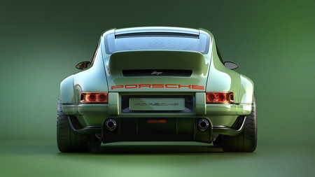 ¿Un Porsche 911 enfriado por aire con 500 hp? Singer y Williams nos presentan esta obra maestra
