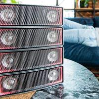 Los Ai-2 son los nuevos altavoces modulares de Sound Dimensions con los que podrás crecer en potencia y volumen
