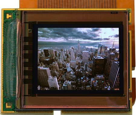 visor electronico microOLED