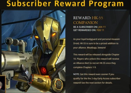 Swtor Hk 55 Subscriber Reward