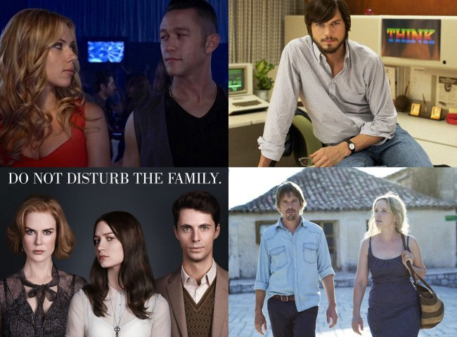 Imágenes de Don Jon´s Addiction, jOBS, Stoker y Before Midnight
